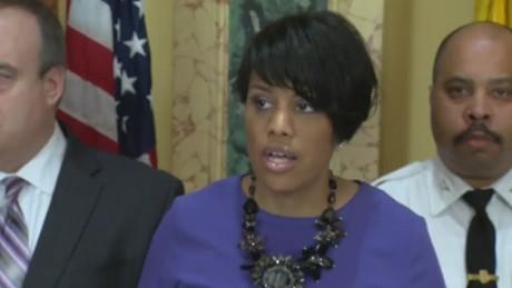 Baltimore mayor speaks on death of Freddie Gray