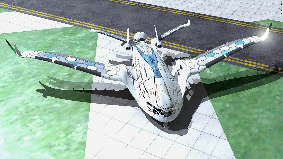 In 2015, designer and aviation enthusiast Oscar Vinals designed a triple-decker concept plane called the AWWA Progress Eagle, which he imagined carrying up to 800 passengers and running on solar power and hydrogen.