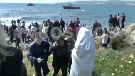 wnr federica mogherini migrant ship_00022518