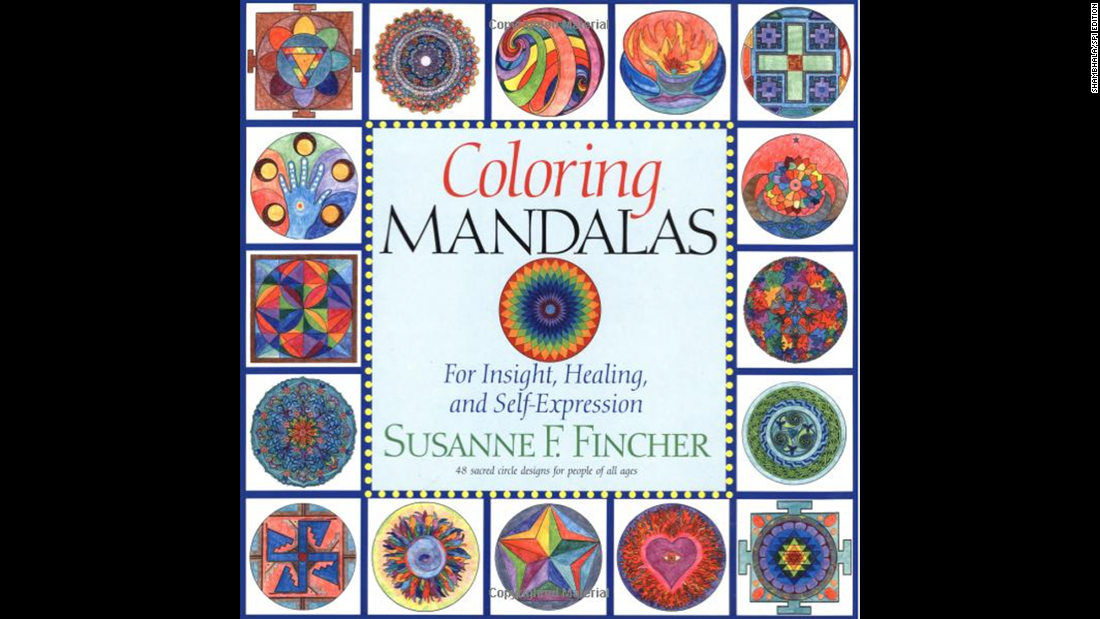 "Art therapist Susanne Fincher uses her own coloring books, such as ""<a href=""http://www.amazon.com/Coloring-Mandalas-Susanne-F-Fincher/dp/1570625832/ref=sr_1_1?s=books&ie=UTF8&qid=1429573376&sr=1-1&keywords=Coloring+Mandalas+1"" target=""_blank"">Coloring Mandalas 1</a>"" as ""homework"" for patients to maintain continuity between their therapeutic visits."