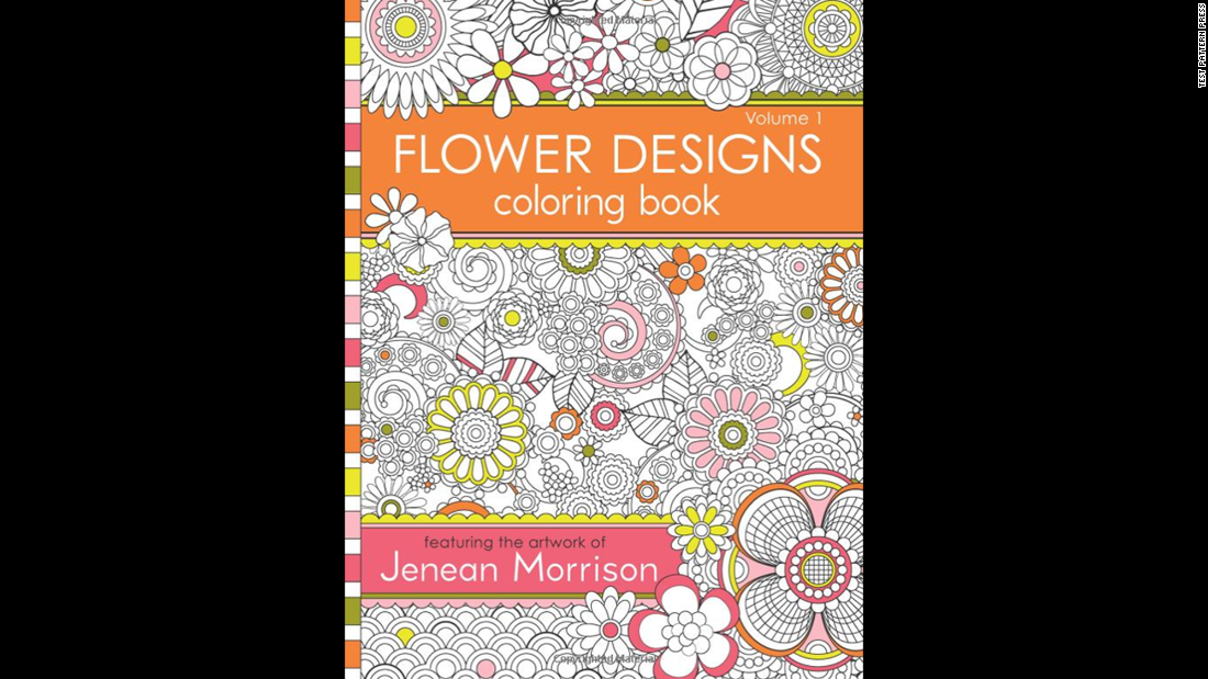 "Intricate designs are a hallmark of adult coloring books. ""<a href=""http://www.amazon.com/Flower-Designs-Coloring-Book-1/dp/0615983987/ref=sr_1_1?s=books&ie=UTF8&qid=1429573277&sr=1-1&keywords=Flower+Designs+Coloring+Book+%28Volume+1%29"" target=""_blank"">Flower Designs Coloring Book (Volume 1)</a>"" by Jenean Morrison offers painstakingly detailed floral designs to fill in.<br />"