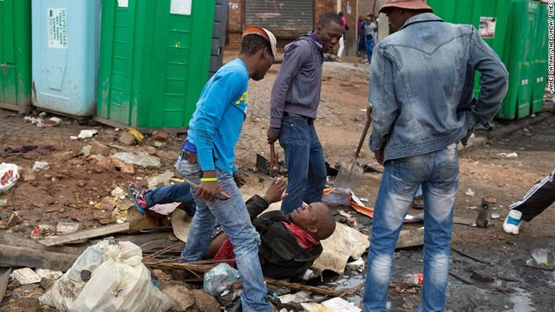 Xenophobic Killing In South Africa Caught By Photos Cnn Com