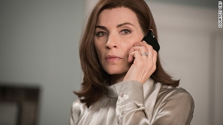 """Untitled - 622"" -- When Alicia (Julianna Margulies) gets a suspicious call from a client, she discovers that he\'s being held in a secret police facility where people are detained without being officially booked on THE GOOD WIFE,  SUNDAY, MAY 10 (9:00-10:00 PM, ET/PT), on the CBS Television Network.  Michael J. Fox guest stars. Photo: Jeff Neumanné2015 CBS Broadcasting, Inc. All Rights Reserved"