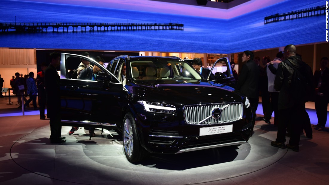 volvo launches china made car in united states. Black Bedroom Furniture Sets. Home Design Ideas