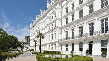 """Africans are investing in high-end real estate in London. Properties like """"The Lancasters"""" close to Hyde Park have long been sought-after by investors from around the world."""