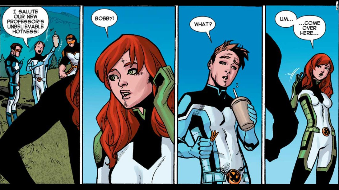 from Cohen gay iceman x-men