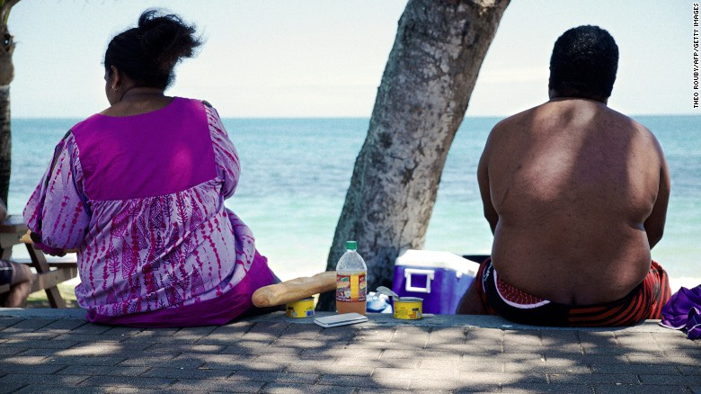 The Pacific islands are home to nine of the top 10 countries for obesity globally. Rates of obesity range from 35% to 50% in the region and one in five children are estimated to be obese.