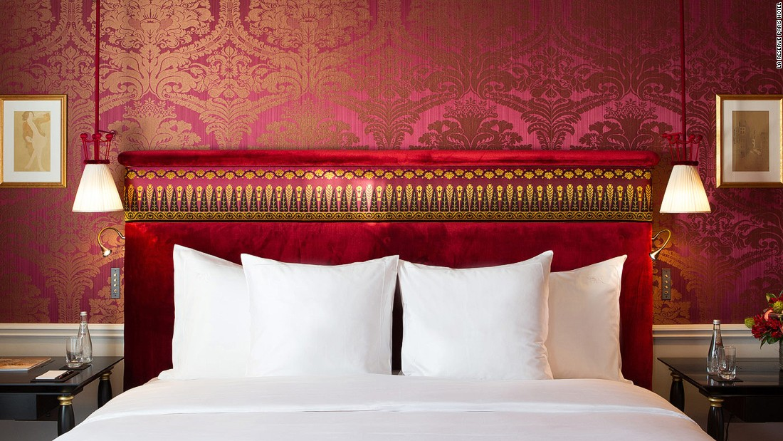 The best city for luxury hotels is for Super hotel paris