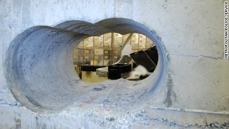 Investigators released new images of the Hatton Garden heist in London on Wednesday, April 22. One former police official speculates the loss could run to $300 million.
