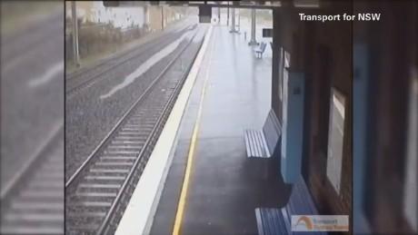 vo australia storm train platform flood_00002309