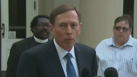 Petraeus: I thank those who have supported me