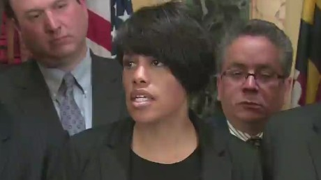 Baltimore mayor issues city-wide mandatory curfew