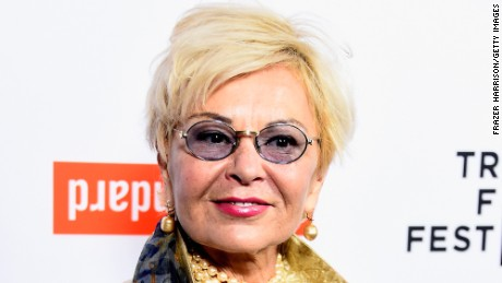 Actress Roseanne Barr arrives at the Tribeca Film Festival Celebrates The 2015 Tribeca Film Festival Program And Tribeca Film's 2015 Upcoming Releases at The Standard, Hollywood on March 23, 2015 in West Hollywood.