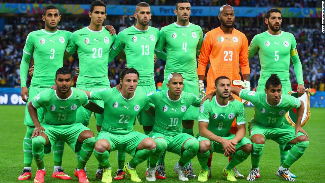 Algeria national football team 2016