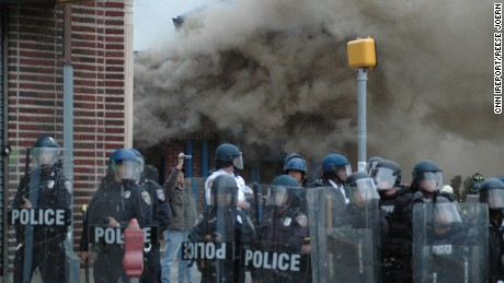 Baltimore's handling of riots slammed as 'disaster'