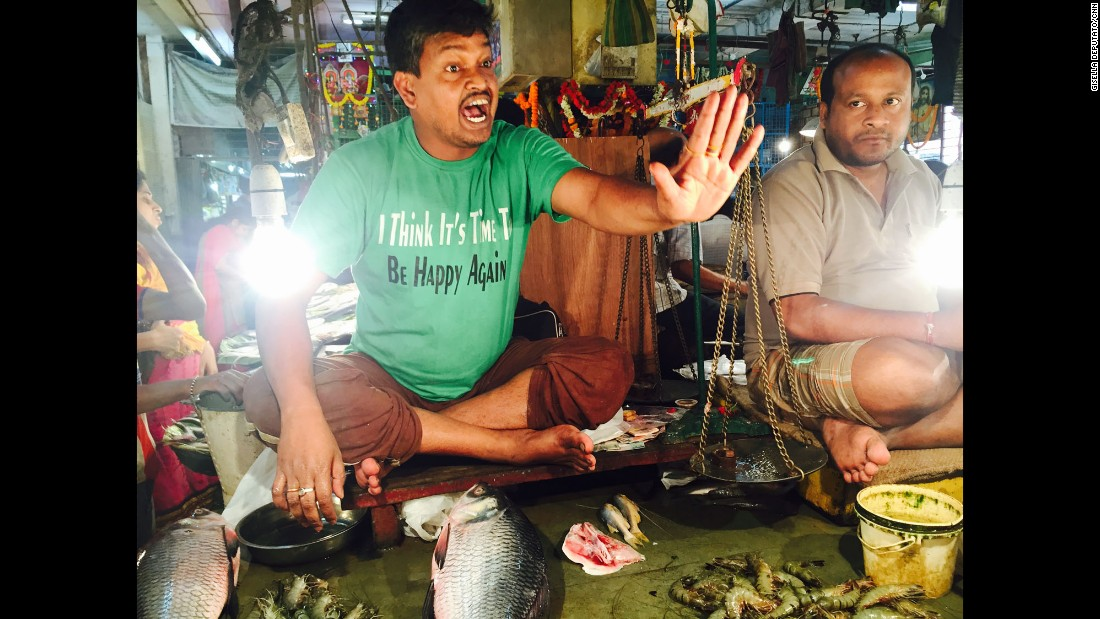 "INDIA: ""I think so, too! Angry seller at Kolkata's Lake Market."" - CNN's Gisella Deputato.<br />Follow <a href=""http://instagram.com/gisellacnn"" target=""_blank"">@gisellacnn</a> and other CNNers on the <a href=""http://instagram.com/cnnscenes"" target=""_blank"">@cnnscenes</a> gallery on Instagram for more images you don't always see on news reports from our teams around the world."