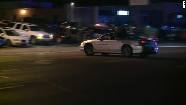 2 people shot in Ferguson as new protests break out