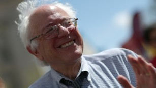 "Sen. Bernie Sanders of Vermont <a href=""http://www.cnn.com/2015/04/28/politics/bernie-sanders-2016-election-announcement/index.html"">will make an announcement</a> on Thursday about his intentions to run for president, a source close to his thinking tells CNN. Here, Sanders participates in a ""Don't Trade Our Future"" march organized by the group Campaign for America's Future on April 20 in Washington. Click through for other photos from his career."