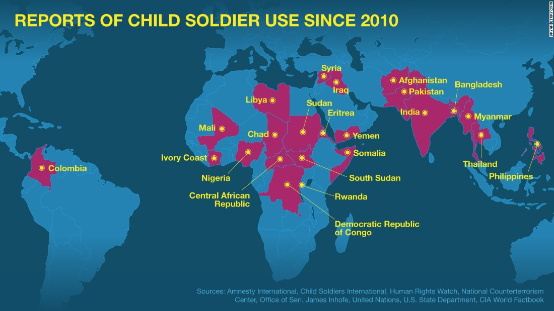 child soldiers ... Child Soldiers In Africa Statistics