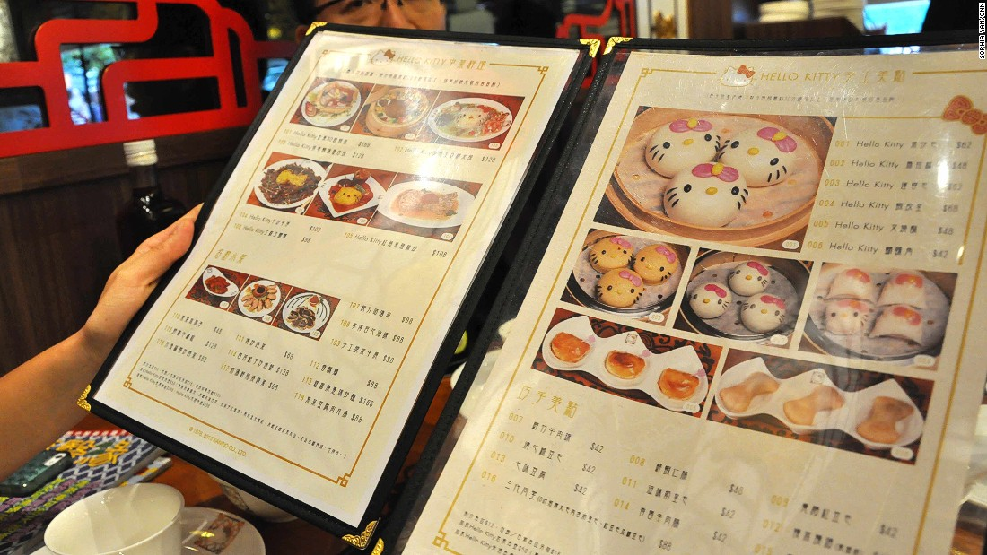 Review world 39 s first hello kitty dim sum restaurant for Cuisine hello kitty