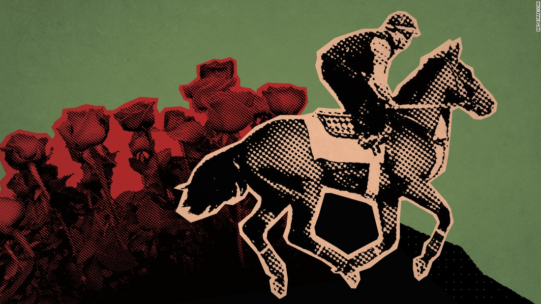 The Kentucky Derby takes place at Churchill Downs on May 2, 2015 in Louisville.