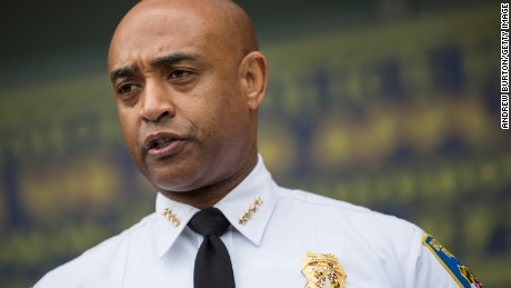 "Baltimore police commissioner Anthony Batts announces police have handed their Freddie Gray investigative files over to prosecutors noting,""This does not mean that the investigation is over. If new evidence is found, we will follow it"" because ""Getting to the right answer is more important than speed"", he said."