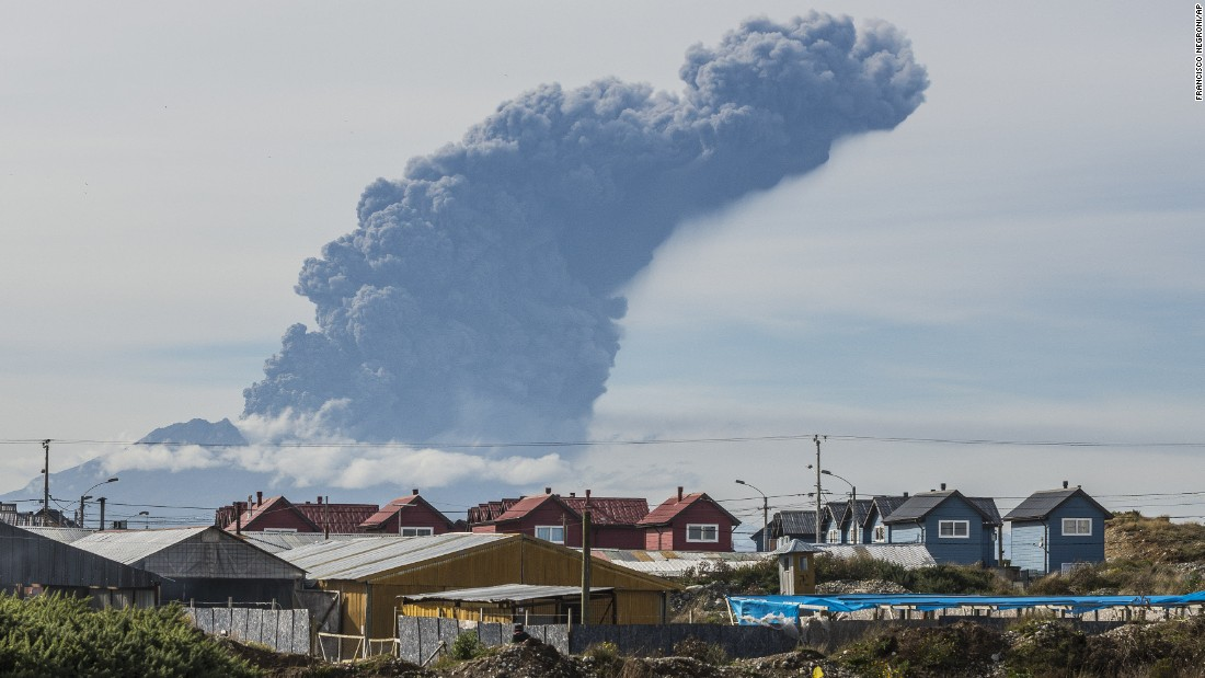 "A thick plume pours from the Calbuco Volcano near Puerto Montt, Chile, on Thursday, April 30. The volcano erupted again Thursday, marking the third time since last week. <a href=""http://www.cnn.com/2015/04/30/world/chile-calbuco-volcano/"">About 1,500 people were evacuated</a> this time, an Interior Ministry official said. The eruptions at the Calbuco are the first in more than four decades."