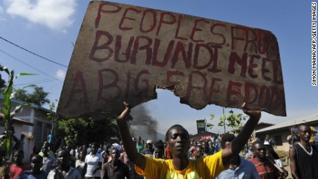 Why Burundi's stability is at risk...