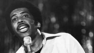 Singer Ben E. King in 1977.