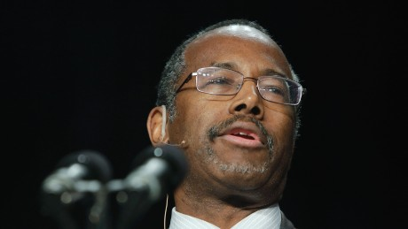 Ben Carson's career in politics
