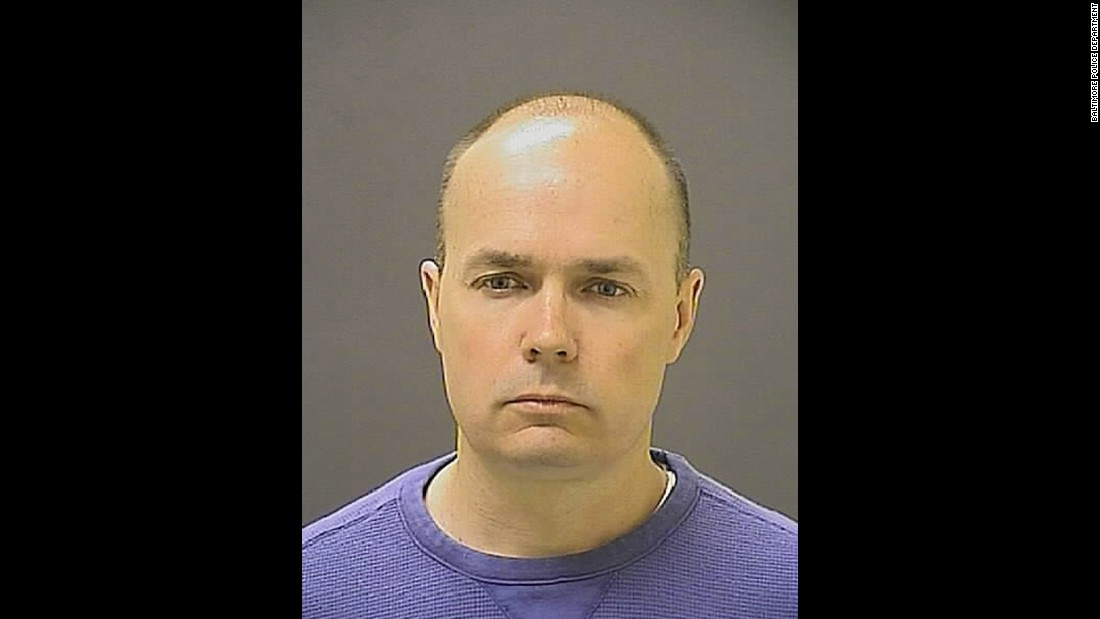 Six Baltimore police officers were charged in the death of Freddie Gray, who died of a severe spinal-cord injury while in police custody in April 2015. Seen here is Lt. Brian Rice, who was part of the bike patrol that arrested Gray. On July 18, 2016, Rice was found not guilty of involuntary manslaughter, reckless endangerment and misconduct in office in connection with Gray's arrest and death.