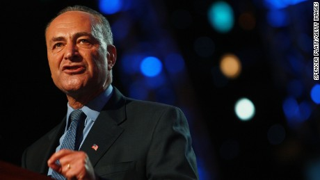 New York Sen. Chuck Schumer is in line to take Reid's job in 2017 as Senate Minority Leader. He is not expected to embrace his colleague's passion for attacking the Koch brothers. Shumber is pictured speaking on day three of the Democratic National Convention (DNC) at the Pepsi Center August 27, 2008 in Denver, Colorado.