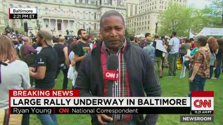 Rally remains peaceful in baltimore_00010320