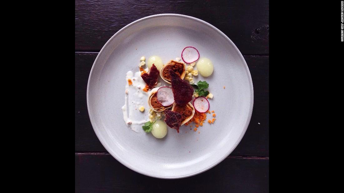 Saut de doritos masterchef creates haute cuisine from junk food - French haute cuisine dishes ...