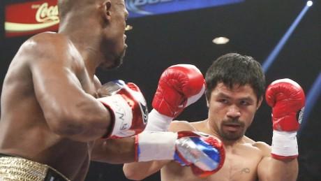 cnnee pkg saenz mayweather pacman fight reax_00002624