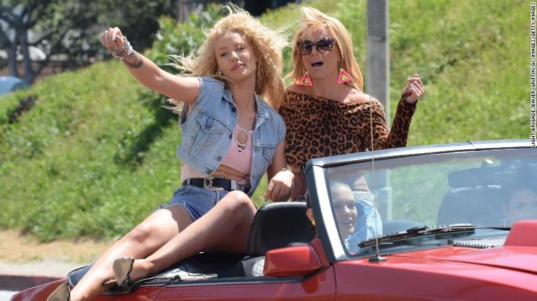 Britney Spears Iggy Azalea Iggy Azalea And Britney Spears