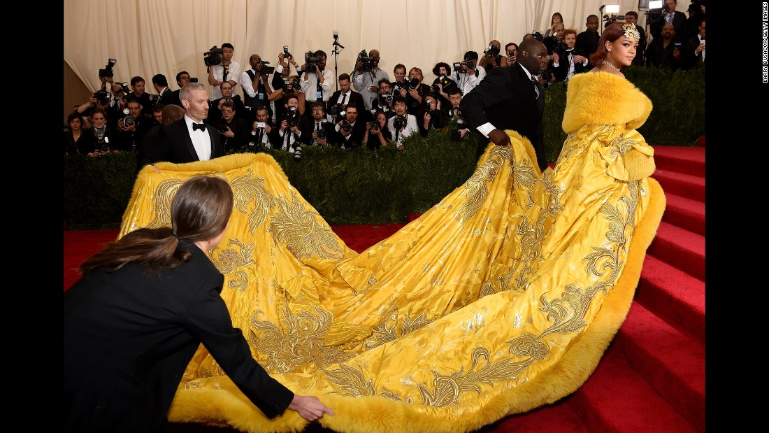 Met Gala 2015: The dresses that were doing the most - CNN.com