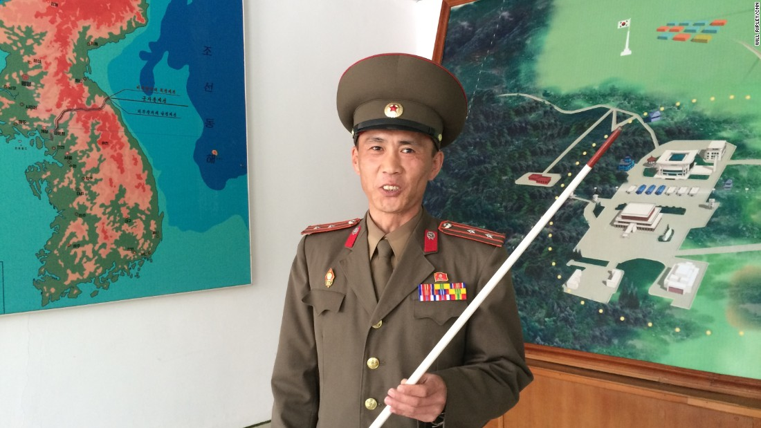 Junior Lt. Colonel Nam Dong Ho is part of North Korea's standing army of more than one million.