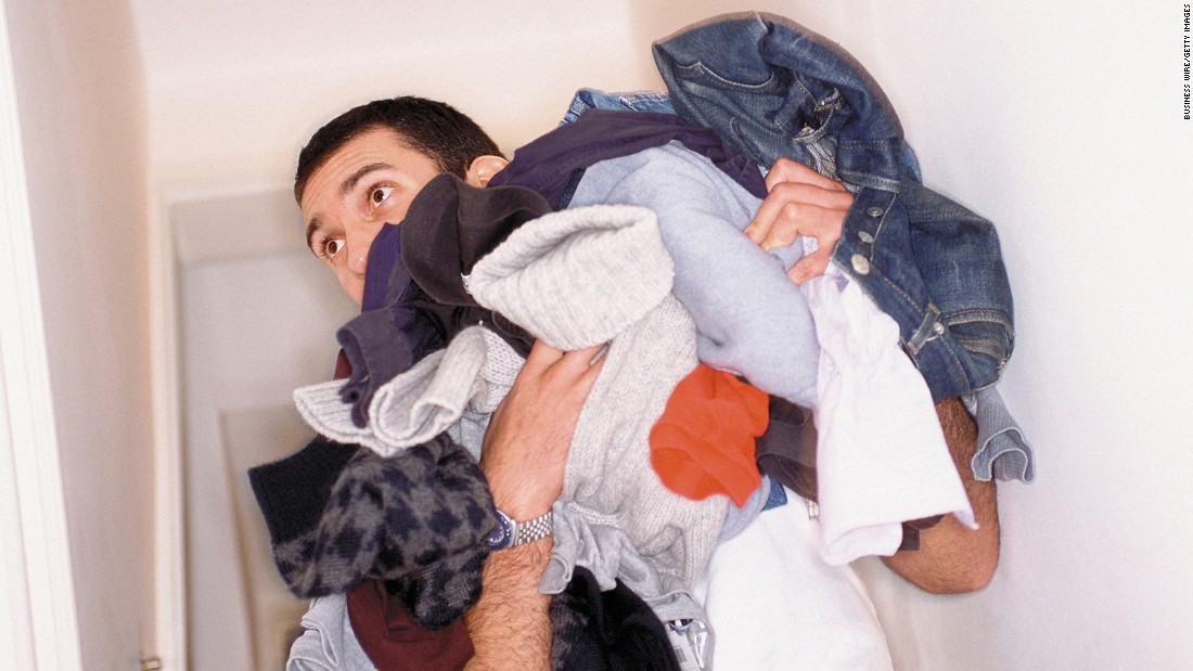 If too many of the household chores are falling on your shoulders, that's just more stress on the pile.