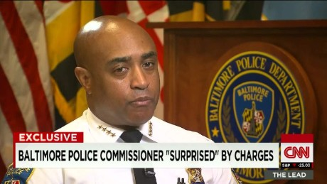 Baltimore Police Commissioner Press Conference Baltimore Police Commissioner