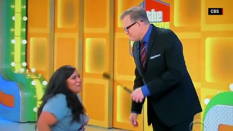 Woman in wheelchair wins treadmill price is right blooper orig_00002020