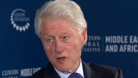 Bill Clinton addresses foundation donations SOT newday _00002512