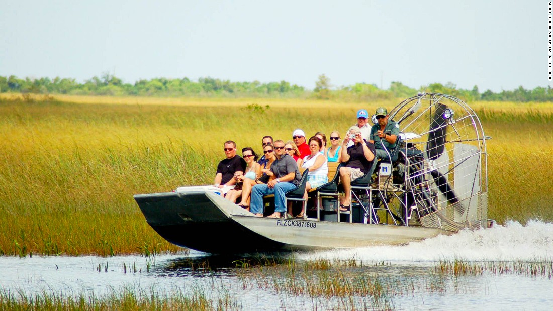Coopertown Everglades Airboat Tours