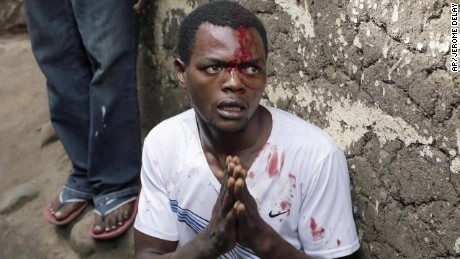 'Clashes in Burundi ahead of election turn deadly <div style=