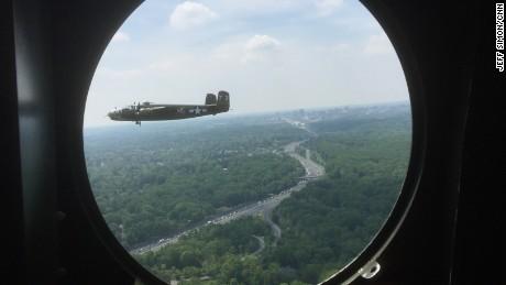 Climb aboard a B-25 Mitchell