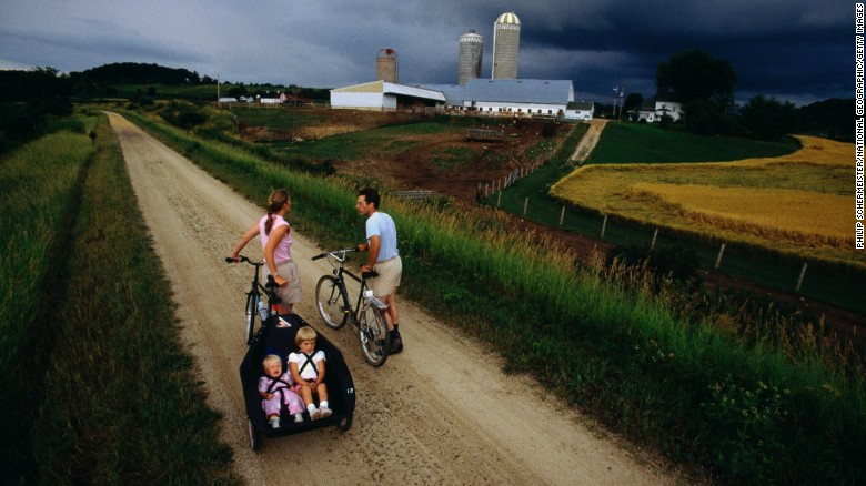 Wisconsin, home of the Elroy-Sparta State Trail in Wilton, dropped from No. 3 in 2014 to No. 9 in 2015.