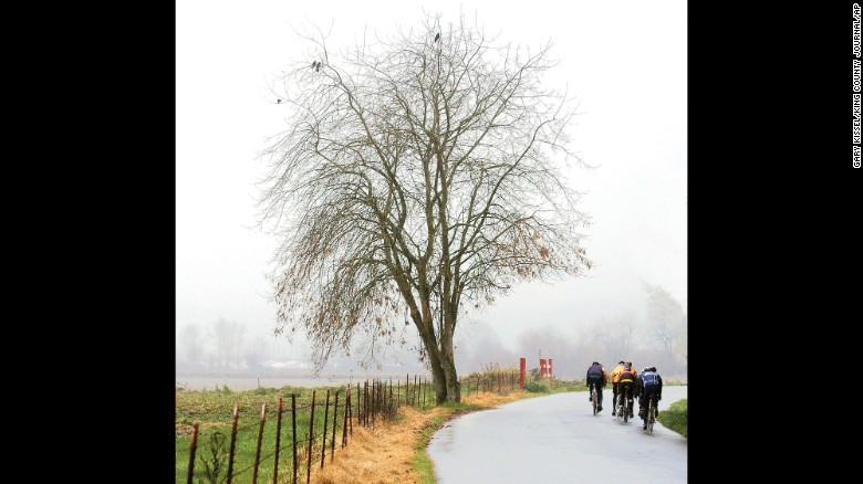 The League of American Bicyclists annually ranks the 50 states on how bikeable they are. Washington state took the top spot in 2015 for the eighth year in a row. Click through to see the rest of the top 10.