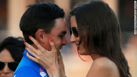 Rickie Fowler as well as Alexis Randock: is this golf's new energy couple?