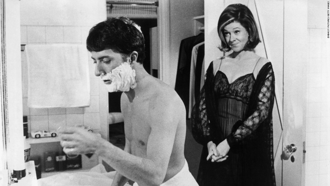 "<a href=""http://www.cnn.com/2015/05/11/entertainment/feat-elizabeth-wilson-obit/"" target=""_blank"">Elizabeth Wilson</a>, a longtime character actress who played Dustin Hoffman's mother, Mrs. Braddock, in ""The Graduate,"" died May 9. She was 94."