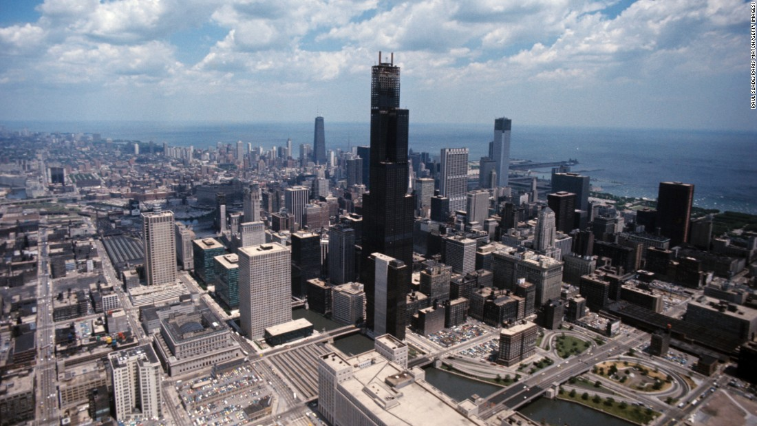 In 1973, the Sears Tower opened in Chicago, overtaking the World Trade Center as the tallest building in the world. The tower, now known as the Willis Tower, is the second-tallest building in the United States today.